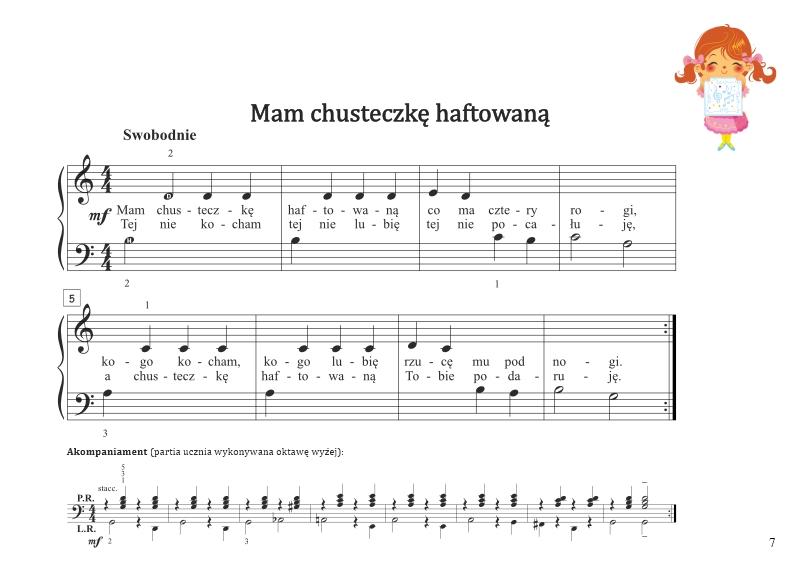 Niewiarygodnie Łatwe nuty na pianino dla dzieci   Moje pierwsze melodie JH94